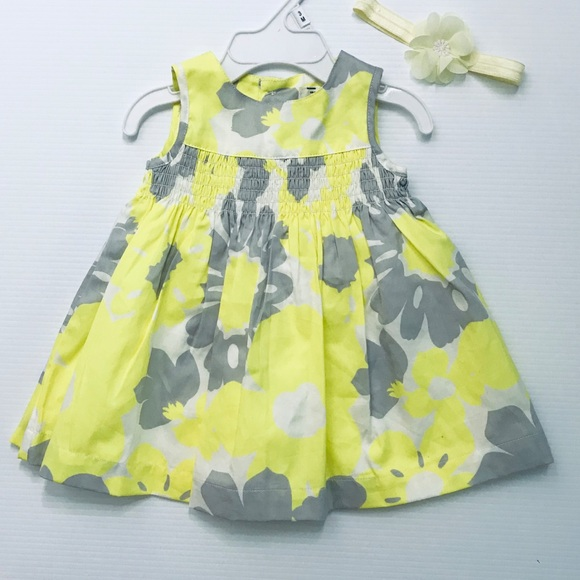 Carter's Other - ❗️SALE 3/$25✨ 3 mo Infant Floral Dress w/Headband